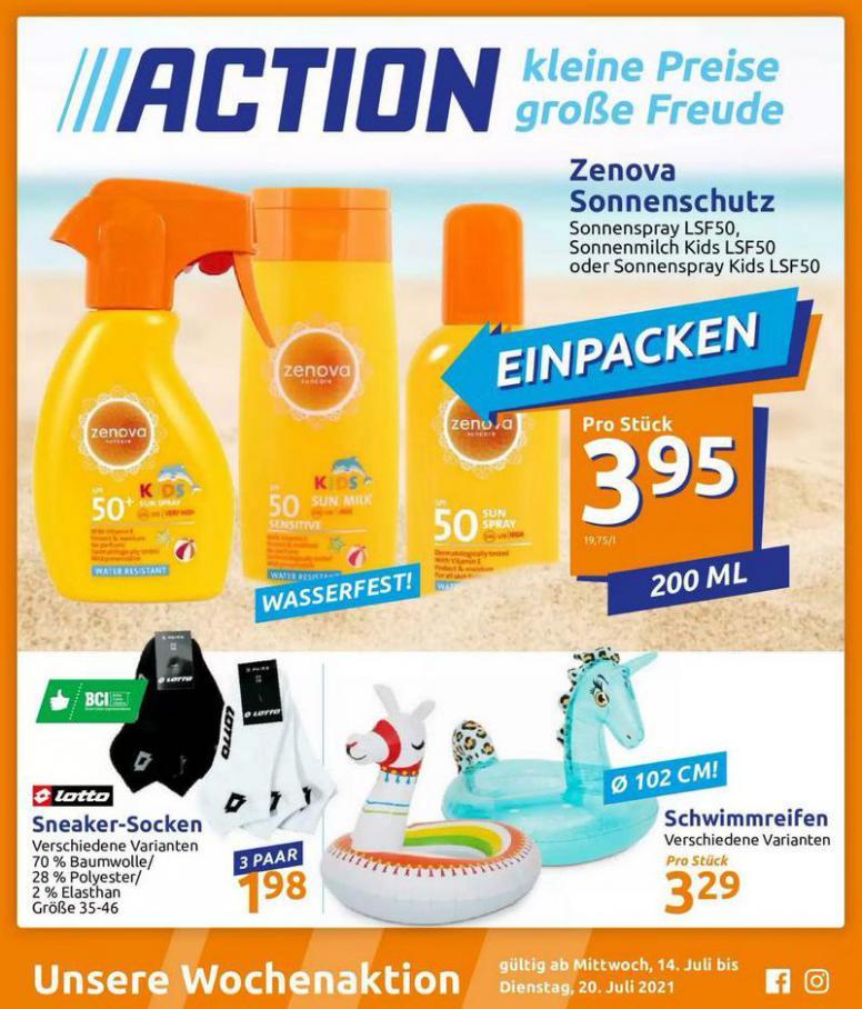 Angebote Prospekt. Action (2021-07-20-2021-07-20)