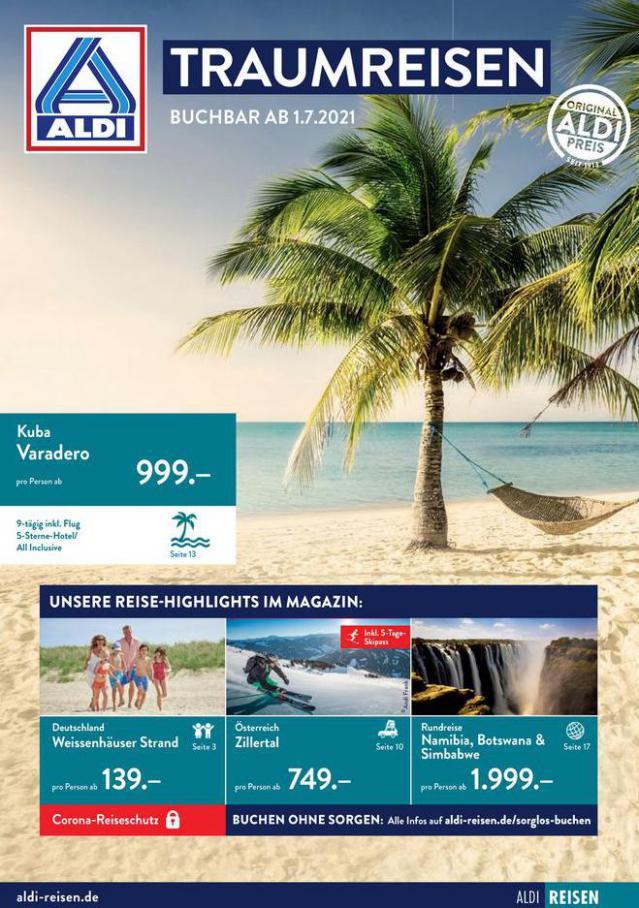 ALDI Reisen. Aldi Nord (2021-07-24-2021-07-24)