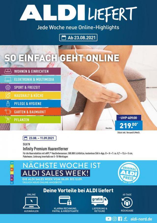 ALDI liefert. Aldi Nord (2021-09-02-2021-09-02)