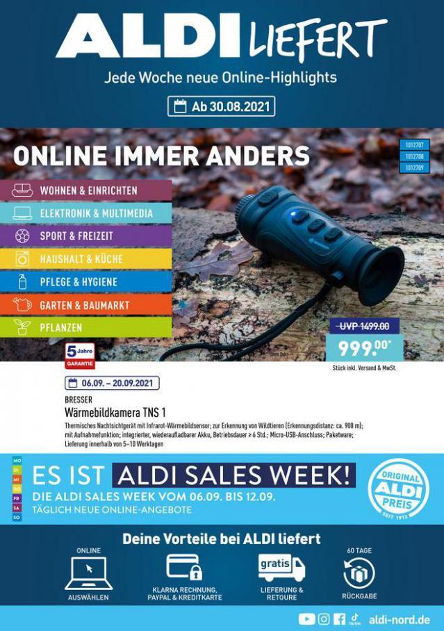 ALDI liefert. Aldi Nord (2021-09-09-2021-09-09)