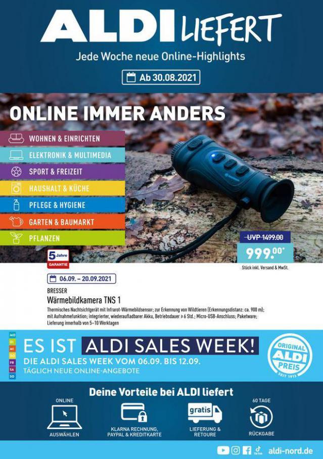 ALDI liefert. Aldi Nord (2021-09-11-2021-09-11)