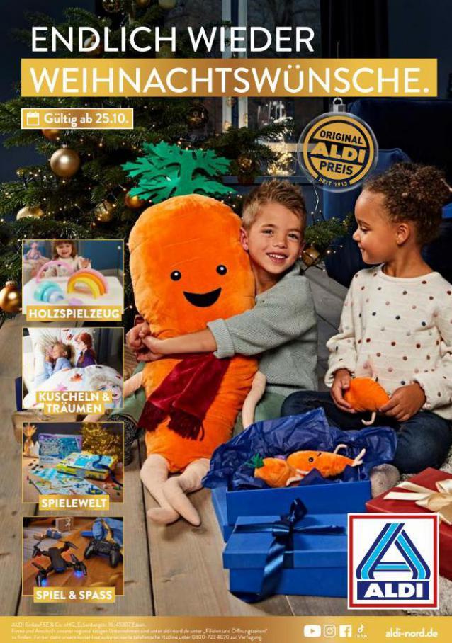 ALDI Weihnachten. Aldi Nord (2021-11-29-2021-11-29)