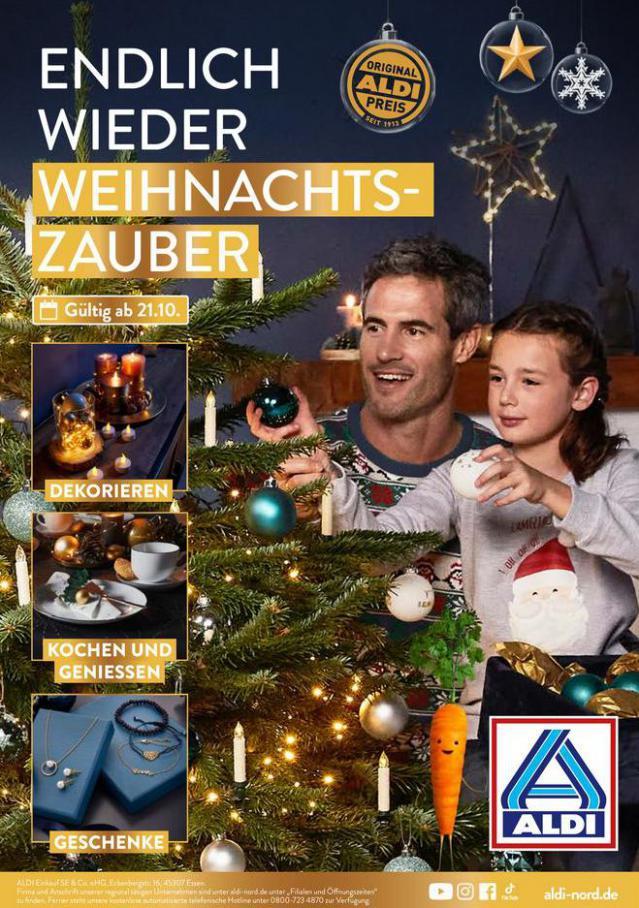 ALDI Weihnachten. Aldi Nord (2021-10-21-2021-10-21)