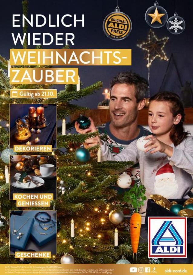 ALDI Weihnachten. Aldi Nord (2021-10-31-2021-10-31)